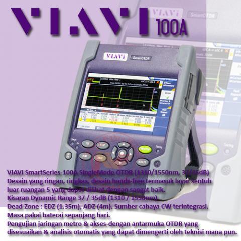 Foto: Jual OTDR Viavi 100A Smart Series – Service dan Kalibrasi OTDR