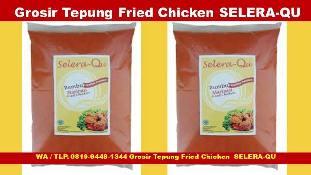 Foto: Murah, Suplier Tepung Fried Chicken Kiloan Selera-Qu Jogja