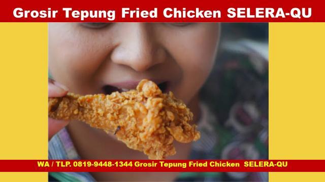 Foto: Agen Tepung Fried Chicken Renyah Selera-Qu Yogyakarta
