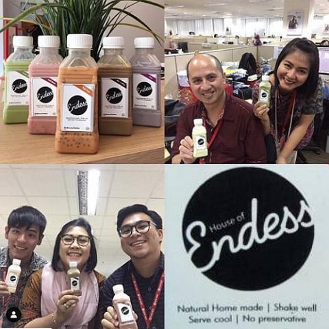 Foto: Endess Milk Shake Minuman Original Tanpa Pengawet
