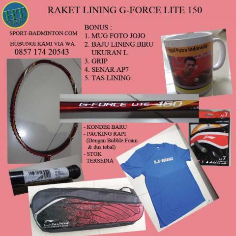 Foto: Raket Badminton Lining G Force Lite 150