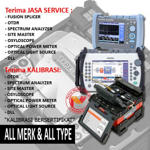 Foto: Service Splicer, Service Spectrum, Service Otdr, Service Oscilloscope