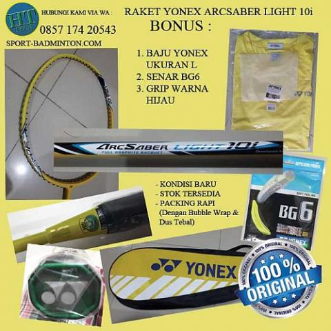Foto: Raket Badminton Yonex Arcsaber Light 10L