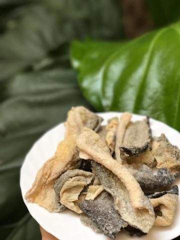 Foto: Krupuk Kulit Ikan Crispy Fish Skin