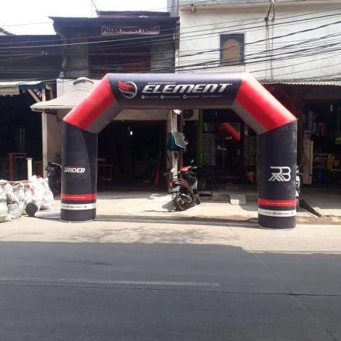 Foto: Jual & Sewa Balon Gate Balon Gapura Start Finish