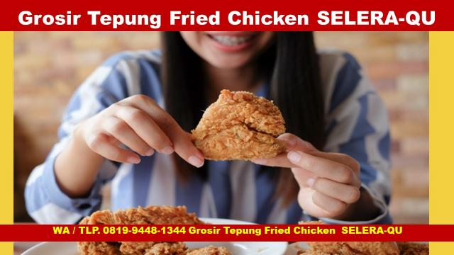 Foto: Distributor Tepung Fried Chicken Kfc Selera-Qu Bandung