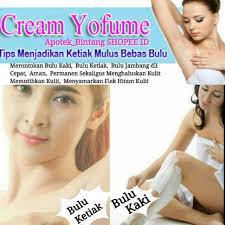 Foto: Perontok Bulu Rambut Cream Herbal Yofume Asli