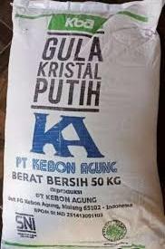 Foto: Gula Pasir GMP Kuning 50Kg Rp. 380.000/sak