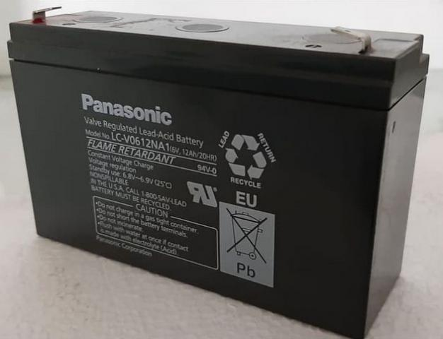Foto: Baterai Battery Aki Kering UPS Panasonic