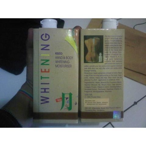 Foto: Cream Pemutih Badan Whitening Handbody di Bandung