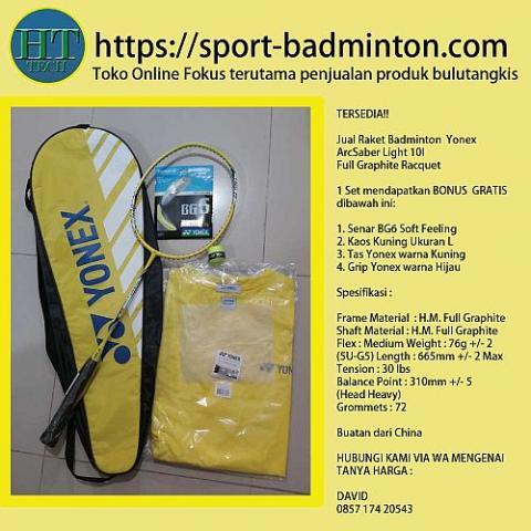 Foto: Raket Badminton Yonex Arcsaber Light 10L Full Graphite