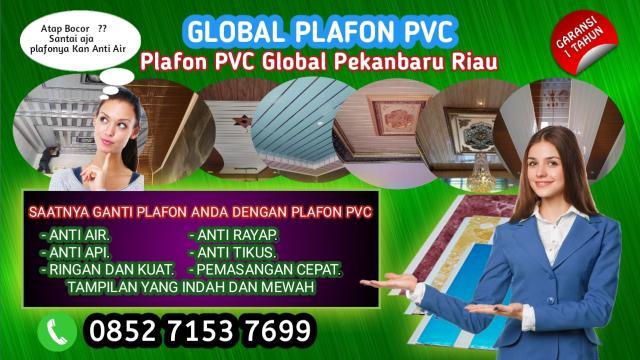 Foto: Pelafon PVC Shunda Plafon Pekanbaru Riau