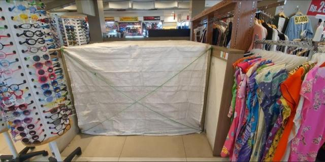 Foto: Disewakan Kios Tangcity Mall Posisi Strategis Samping Travellator