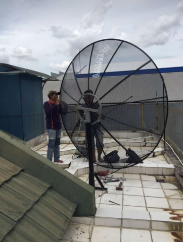 Foto: Antena Tv Parabola dan Penangkal Petir Jabodetabek