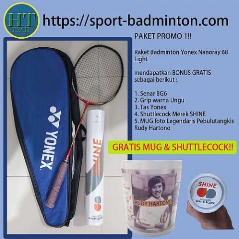 Foto: Raket Badminton Yonex Nanoray 68 Light
